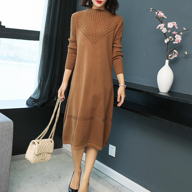 """新发现:""""鹿皮绒""""秋裙,六零后穿时髦,七零后穿时尚,真美值了"""