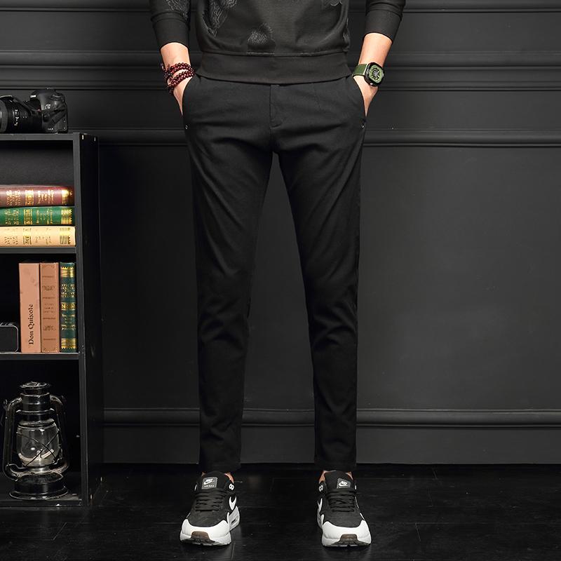 休闲裤韩版裤男式潮流男裤运动长裤子优惠券