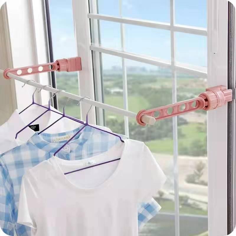 五孔晾晒架 室内晾衣架 挂衣架 多功能晾衣架 晾衣杆