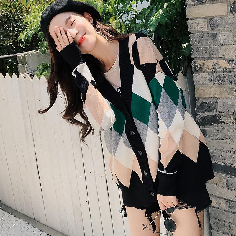 秋冬新款韩版chic格子女装优惠券