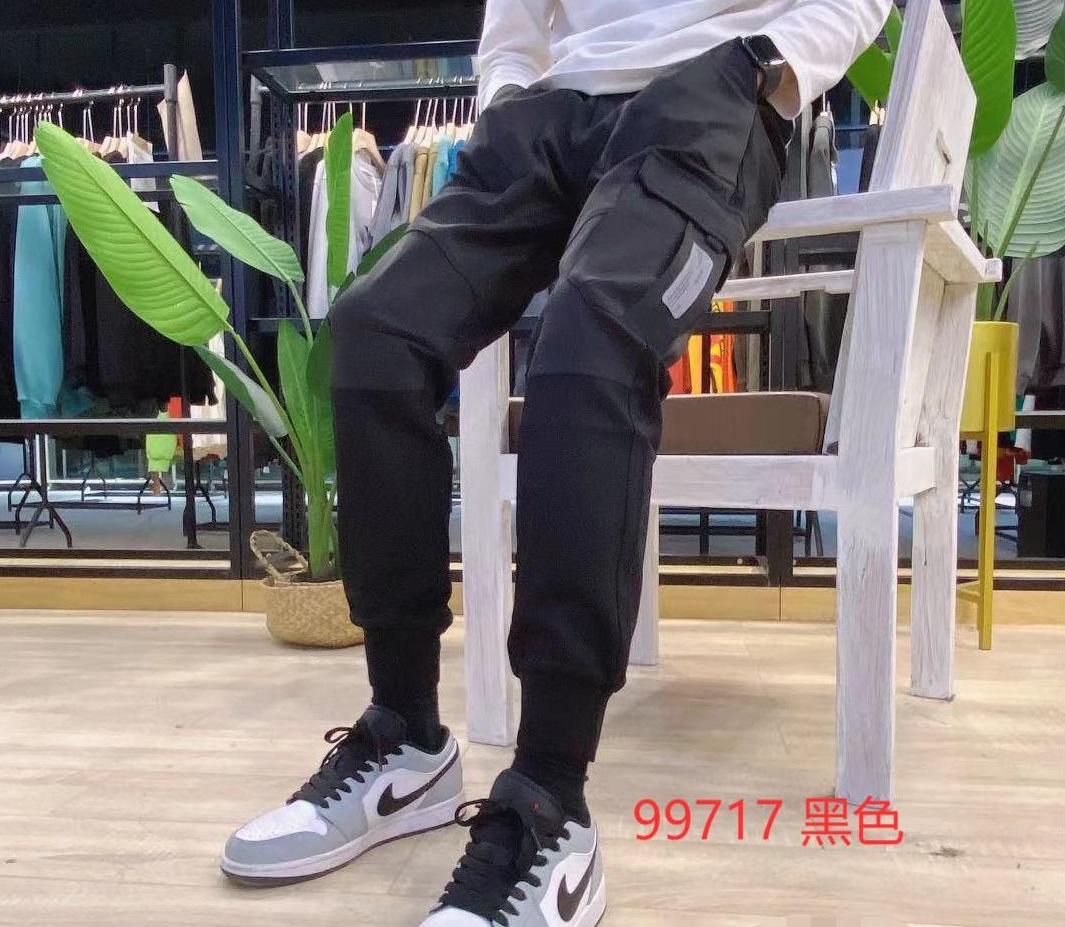 男装YLZ长裤99717款黑色