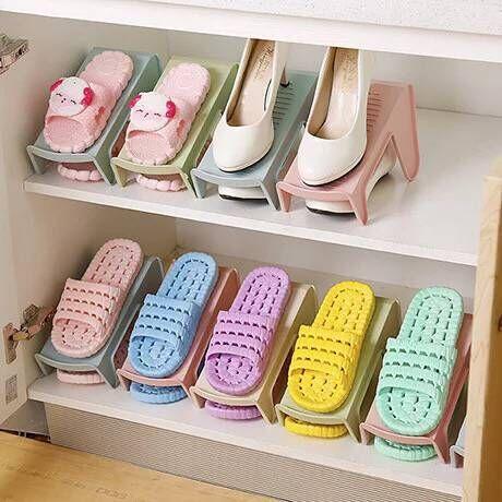 【天天特卖】简约双层鞋子收纳架一体式鞋托优惠券