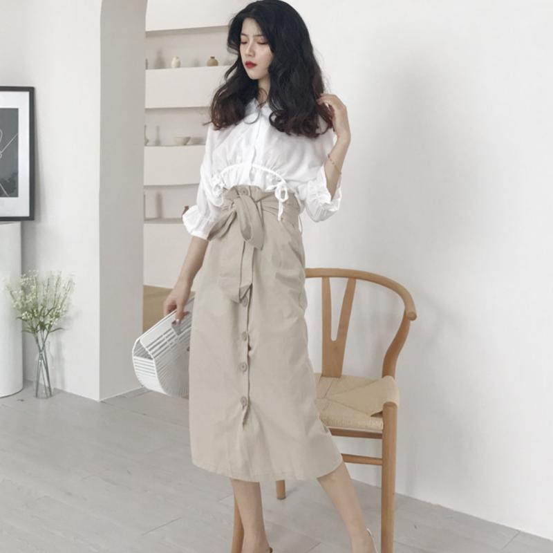 九月建议穿这种半身裙,搭配上毛衣超美腻,显瘦显白超美嫩