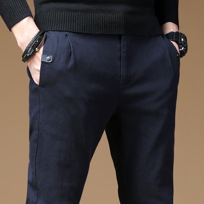 男人到了40岁,出门别穿牛仔裤!瞧这些潮男裤,帅气有型潮翻天