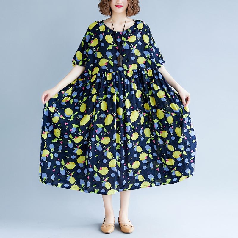 裙子度假显瘦长裙棉麻连衣裙优惠券